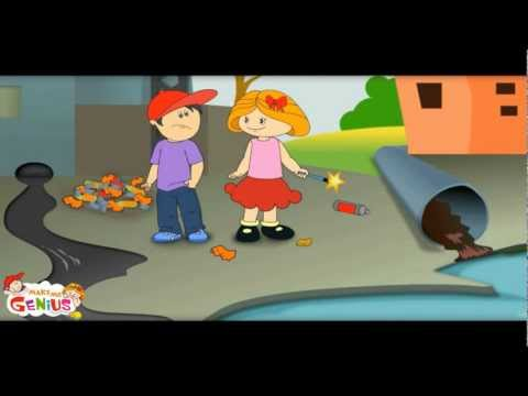 Pollution Video 1 -For Kids -Pollution : Meaning and Definition