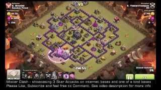 3 Star TH9 GoLaLoon - Haste Spells - Clash of clans, clan war