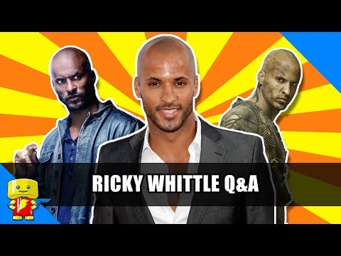 Ricky Whittle Q&A from American Gods and The 100