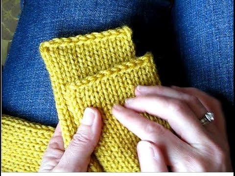 Straight Knitting Loom Scarf Pattern : Tutorial: Getting Clean, Straight Edges on a Knitted Tube Scarf (Addi Express...
