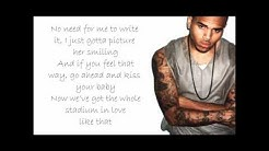 Chris Brown - Best Love Song (With Lyrics In HD)