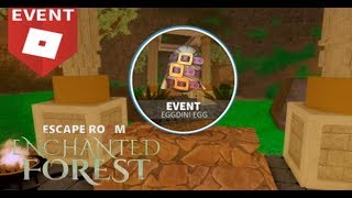 How to: Get the Eggdini Egg on Escape Room - Enchanted Forest - Roblox Egg Hunt 2019