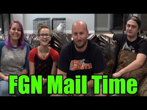 FGN Crew Fan Mail Time #1 - October 31st 2016