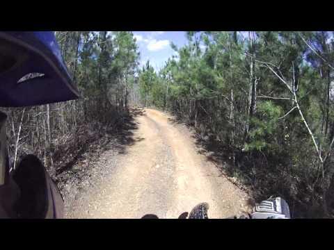 Dirt Bike Riding At Stoney Lonesome OHV park Alabama