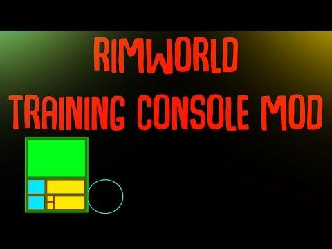 Rimworld Mod Guide: Training Console Mod! Rimworld Mod Showcase