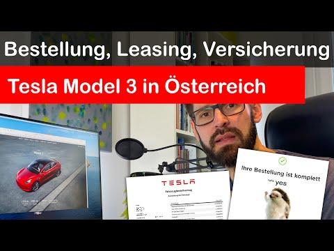 Tesla Model 3: Bestellung, Leasing & Versicherung in Österreich