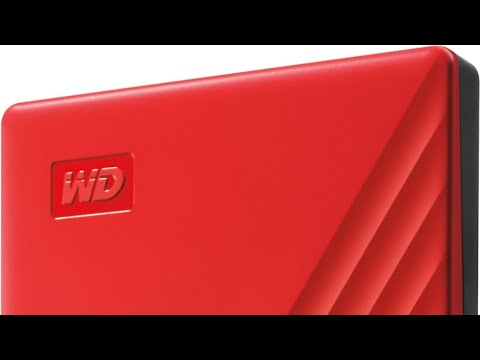 Western Digital 2TB My Passport Red Portable Hard Drive Unboxing 10-24-19