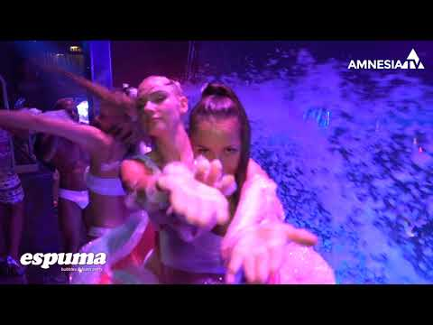 Foam Party Amnesia 2018