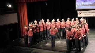 """""""""""La Pastora"""" Coro A.N.A Soreghina al Teatro Govi di Bolzaneto (Ge)"""