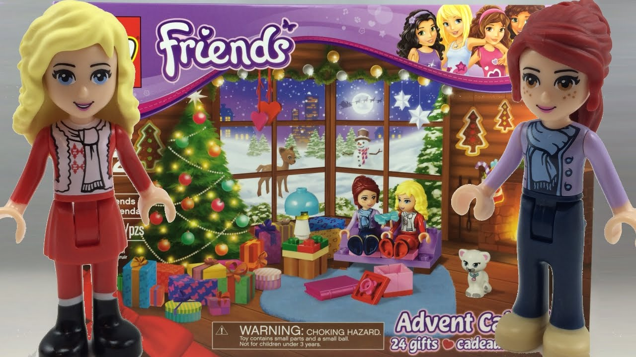 Lego Friends Christmas Sets.Lego Friends 2014 Advent Calendar Review 41040