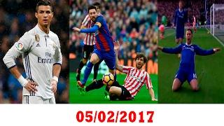 فوز برشلونة بثلاثية - يجب احترام كريستيانو - هدف مارادوني لهزارد في فوز تشلسي