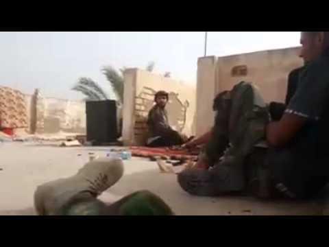نعي مفجع من احد جنود الحشد الشعبي على استشهاد صديقه