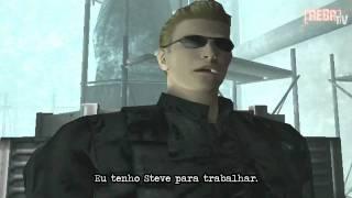 Resident Evil CODE: Veronica X - Chris vs. Wesker [legendado]
