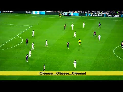 FC Barcelona ● 10 Wonderful Teamplay Goals in El Clasico ● R