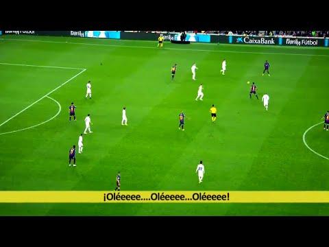 FC Barcelona ● 10 Wonderful Teamplay Goals in El Clasico ● Real Madrid Chasing Shadows ||HD||