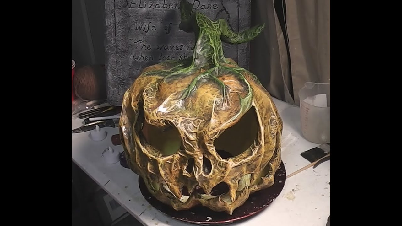 Paper Mache Pumpkins 1 Introduction And Materials Youtube