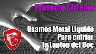 Usamos la pasta térmica mas peligrosa del mercado, Metal Liquido - Droga Digital