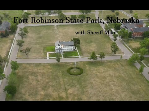 Fort Robinson State Park, Nebraska, with Sheriff Mike