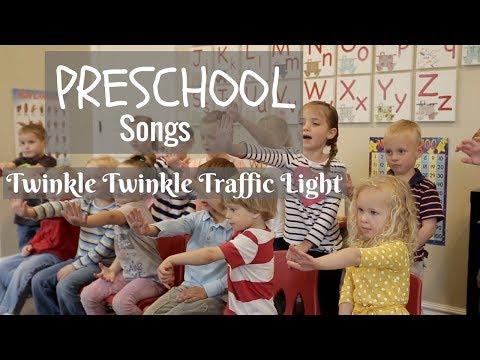 Preschool Songs Twinkle, Twinkle, Traffic Light