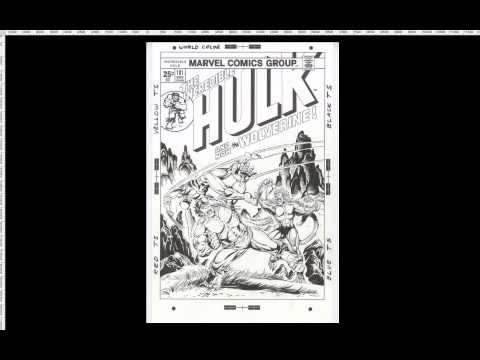 Hulk 181 Variant Cover Commission Herb Trimpe Original Art