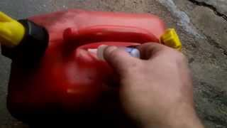 HOW TO- Fix a cracked gas can- Hillbilly How-To