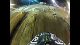 GOPRO Michael Mahon VMX KTM 450 pro open race 2 byford arena-x