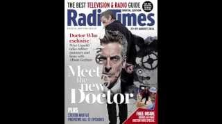 Radio Times Peter Capaldi Doctor Who Motion Cover
