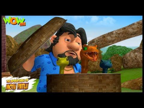 Motu Patlu New Episode  Cartoons  Kids TV Shows  John Ke Snakes  Wow Kidz