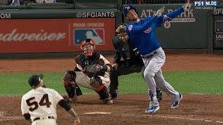 Bryant ties game with two-run homer in 9th