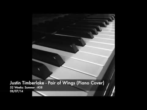 Justin Timberlake - Pair Of Wings (Cover) [Piano Instrumental]
