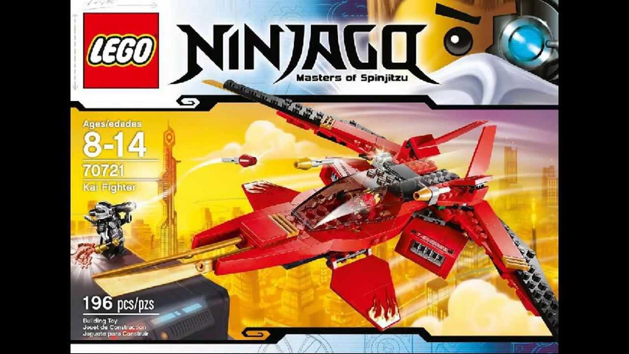 2014 LEGO Ninjago 70721 Kai Fighter And General Cryptor