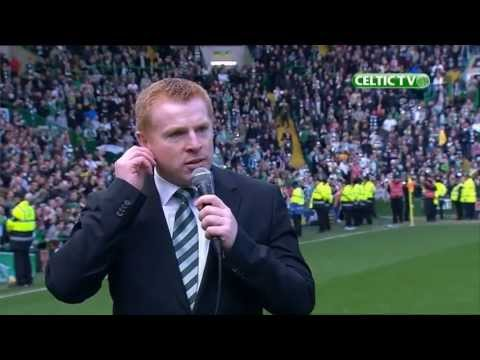 Celtic FC - Neil Lennon talks to the Celtic Support