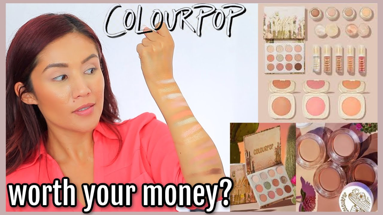 NEW Colourpop Collection!!!!! Colourpops Wild Nothing Collection