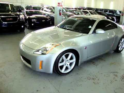 2004 Nissan 350Z Touring VEHICLEMAX.NET Silver #30171 Used Cars Miami FL