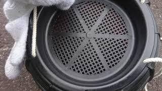 2018.9.24 シマヘビ 縞蛇 カラスヘビ カラス蛇 捕獲 thumbnail