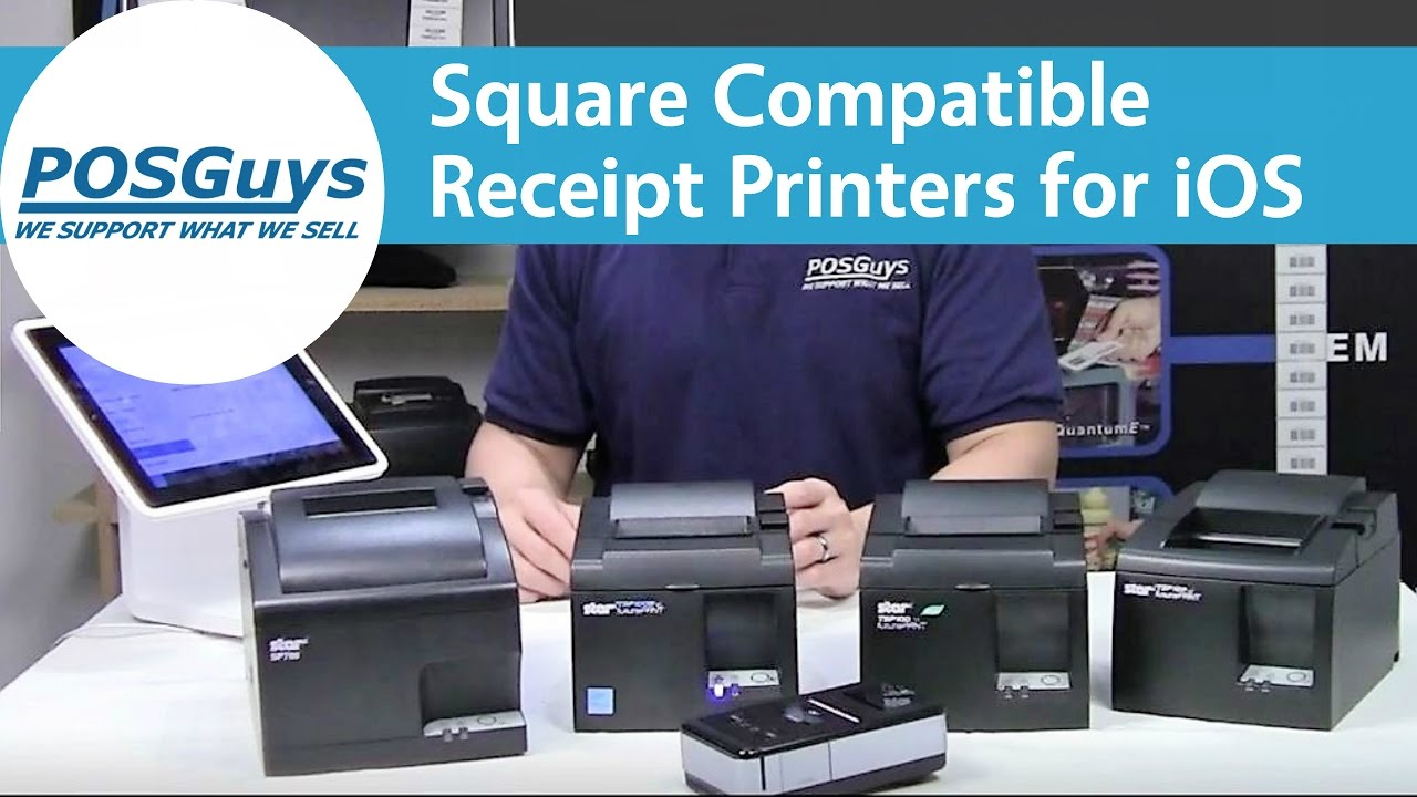 Square Compatible Receipt Printers For Ios Posguys