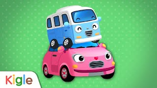 귀여운 자동차 봉봉과 하트 | 아기버스 | 정비차 | …