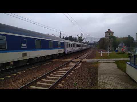"""EU44-008 IC 406 """"Chopin"""" Praha / Wien / Budapest - Warszawa Wschodnia"""
