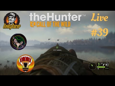 The Hunter Call Of The Wild Multiplayer Hunt#39!!! Diamond!!! Duck Hunting With Rekt'd Kiwi & Non!!!