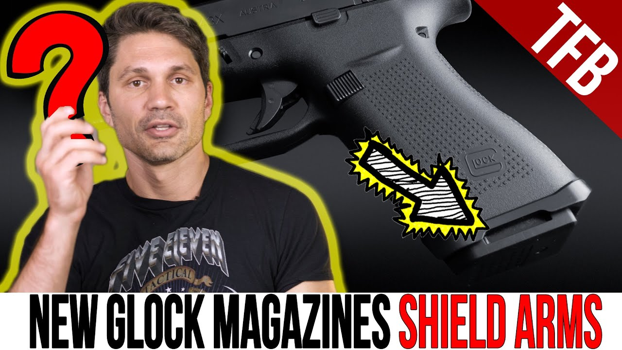 Download Gen 2 Shield Arms Glock 43X & 48 15rd Magazines