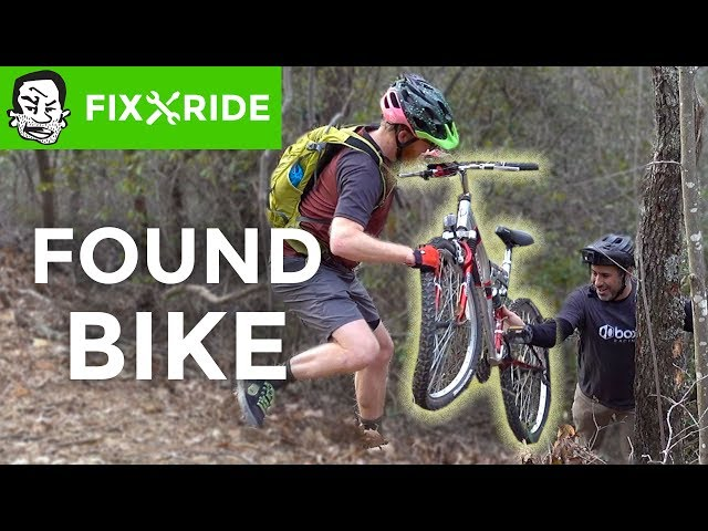 Found Bike gets repaired, ridden, and cashed in