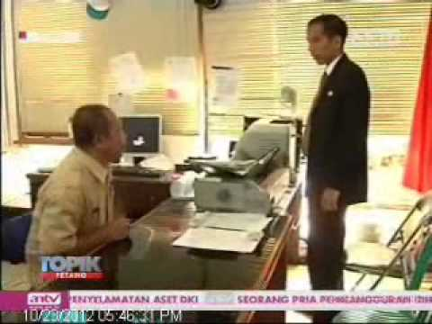 TOPIK ANTV Lurah Tidak Ada, Jokowi Marah Marah