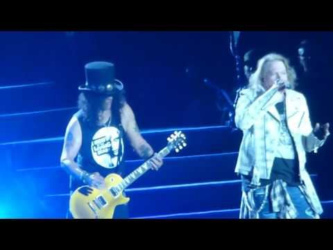 Guns N' Roses Sweet Child O' Mine Live Autodromo  Imola 10/6/2017