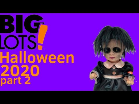 Halloween 2020 Lot Big lots Halloween 2020 website (part 2/not that much)   YouTube