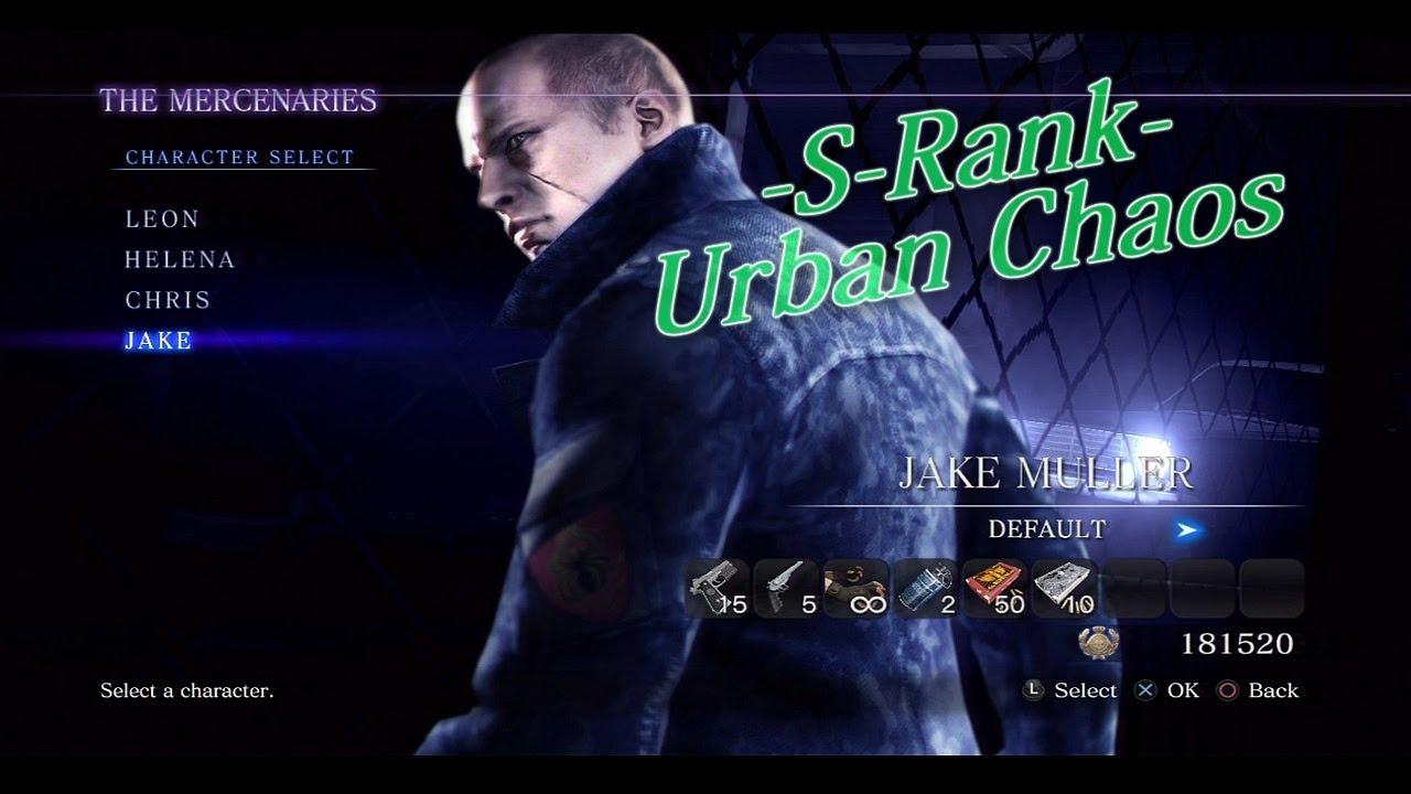 resident evil 6 characters jake