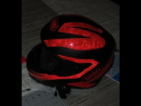 How to Apply Custom Reflective Graphics on your Helmet