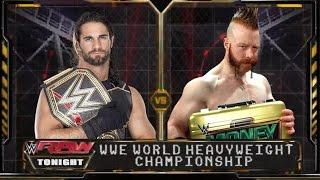 wwe raw 15 sheamus cashes money in the bank wins wwe world heavyweight championship