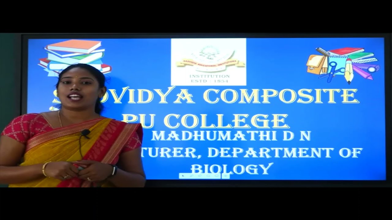 I PUC | Biology | Photosynthesis in Higher plants - 02