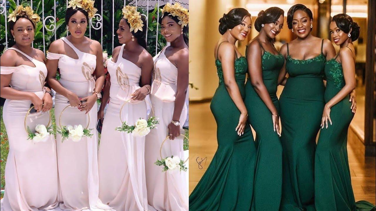 African Bridesmaid Dresses 2019, Volume 6 #Super Cute