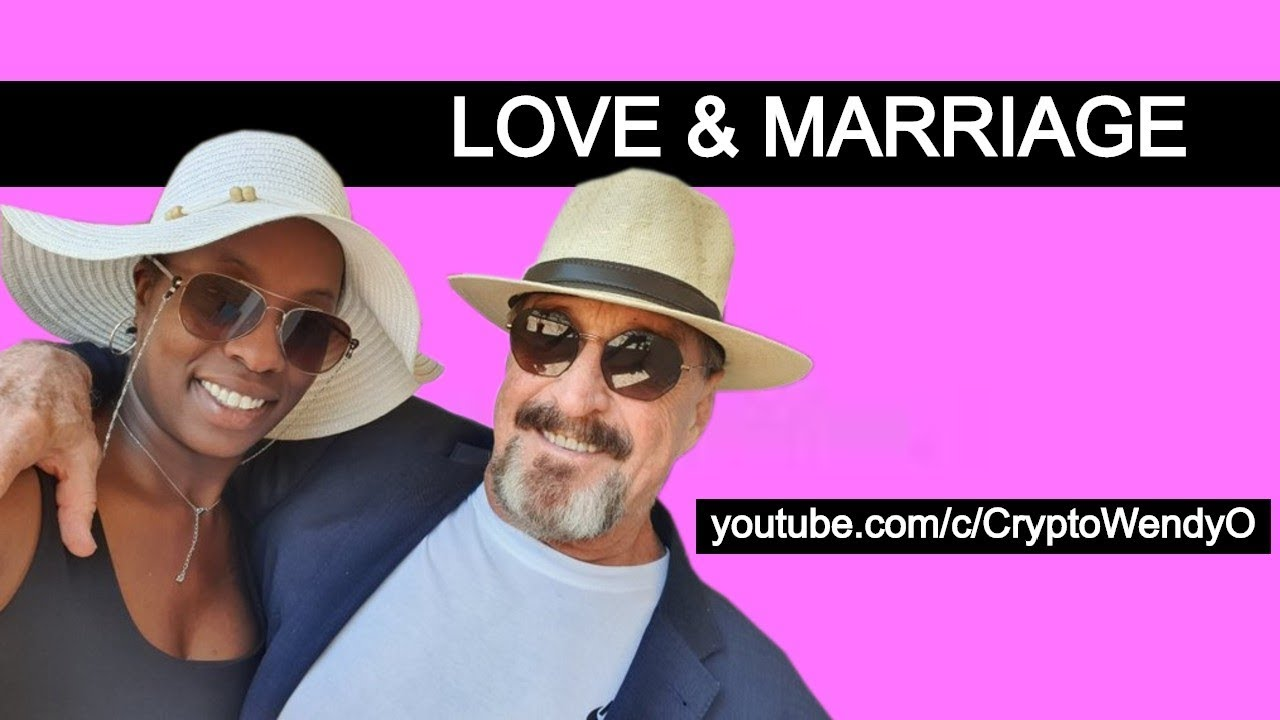 The Love and Marriage Podcast  with co host Hotep Jesus and guests John and Janice Mcafee